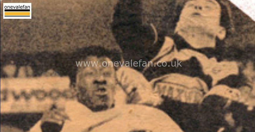 Port Vale striker Darren Beckford