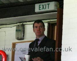 Port Vale FC manager Jim Gannon