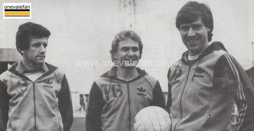 Gary Pollard, Terry Armstrong and Martin Henderson in 1983