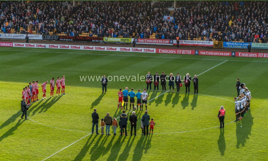 Port Vale and Sunderland tribute