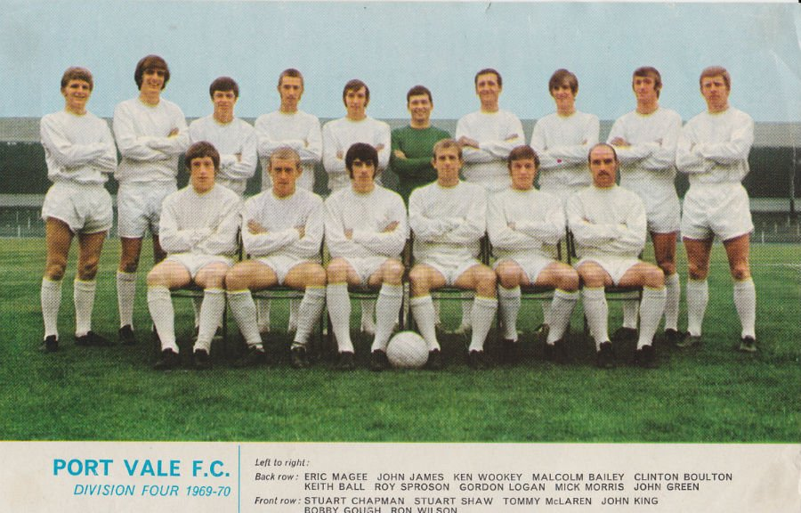 1970 Port Vale promotion
