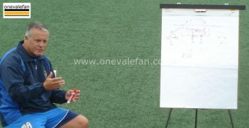 Port Vale manager Micky Adams explains tactics