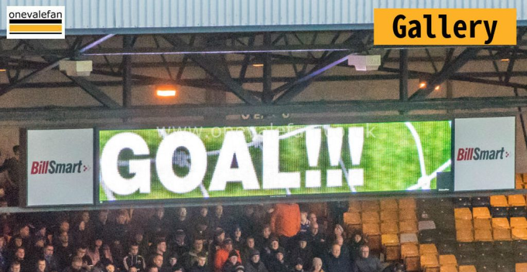 Port Vale 1-4 Oldham Athletic gallery
