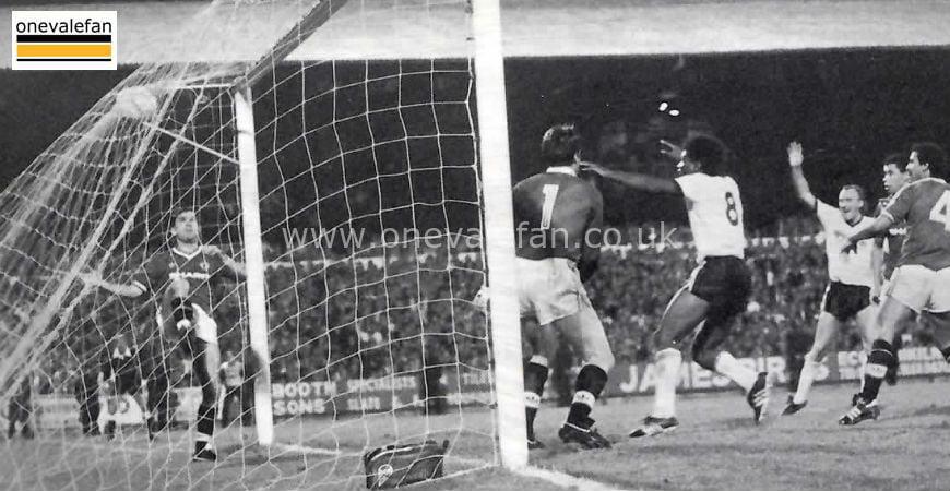 Photo Essay: Port Vale score against Man Utd in 1986
