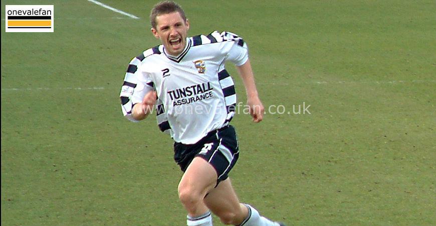 Port Vale midfielder Micky Cummins