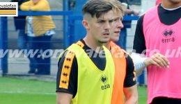 Port Vale midfielder Daniel Trickett-Smith