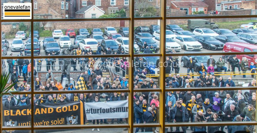 Port Vale protests 2019