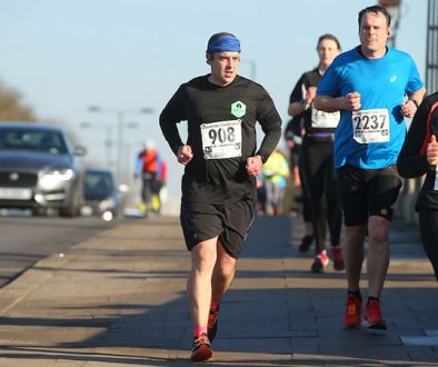 Running the Hampton Court half marathon