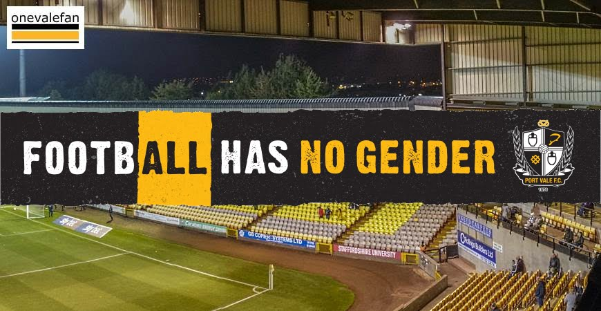 Football has no gender logo