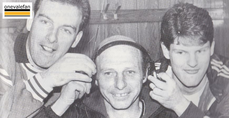 Sproson, Rudge and Walker listen to the cup draw