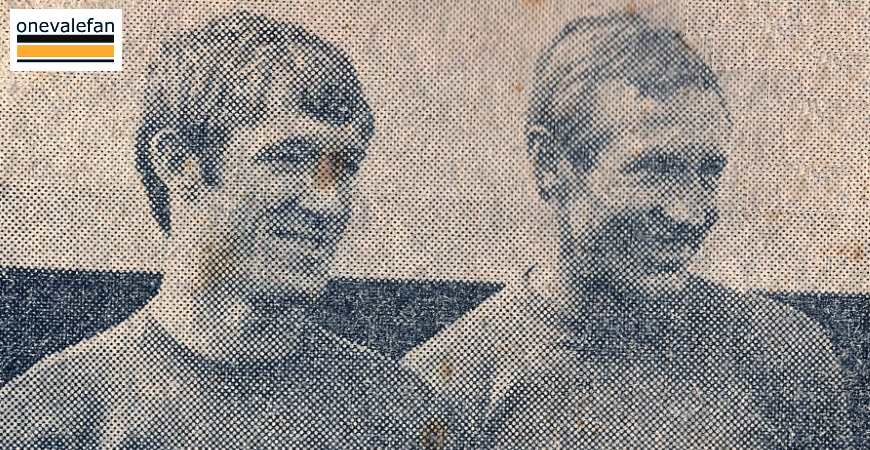Micky Morris and Roy Chapman