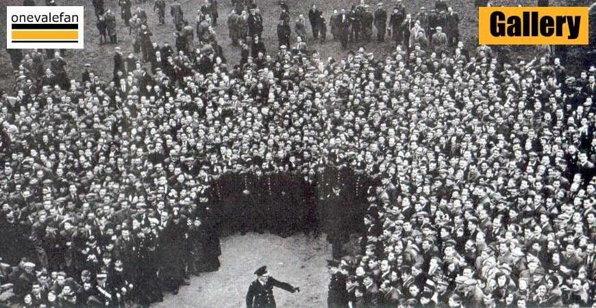 Vintage images of Port Vale fans