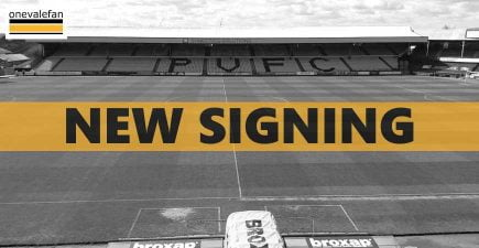 New Port Vale signing