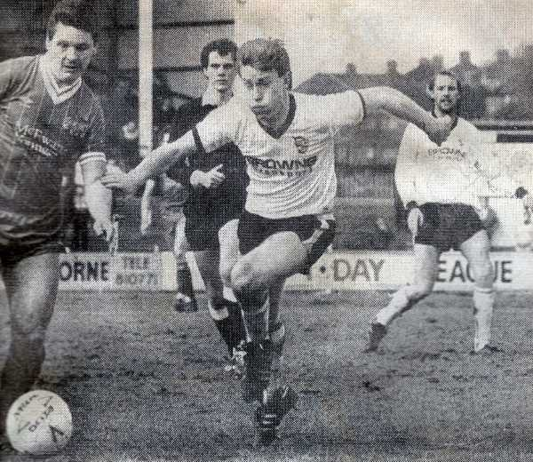 Paul Smith in action against Carlisle United