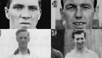 Ken Higgs, Harry Howell, Ian Buxton and Basil Hayward