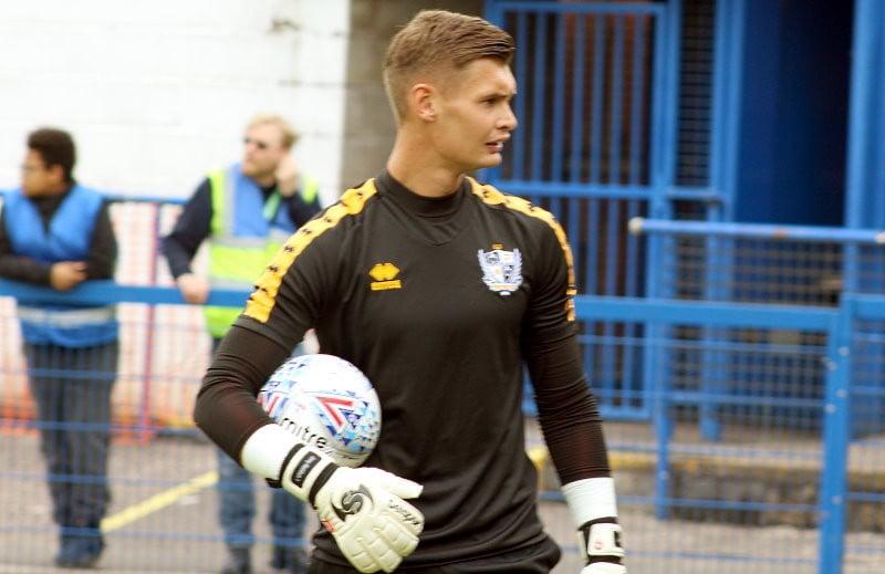 Port Vale goalkeeper Jonny Maddison
