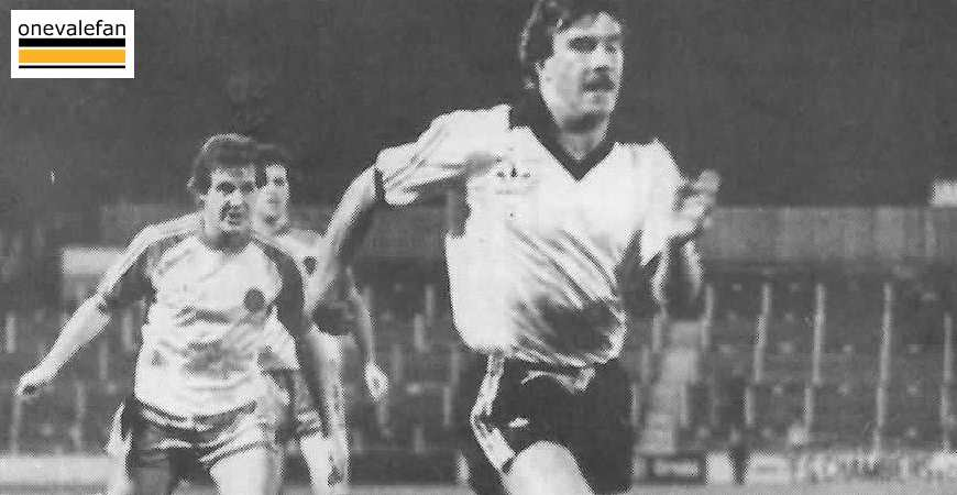 Port Vale striker Alan Woolfall