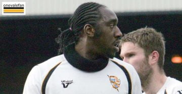 Exodus Geohaghon in action for Port Vale