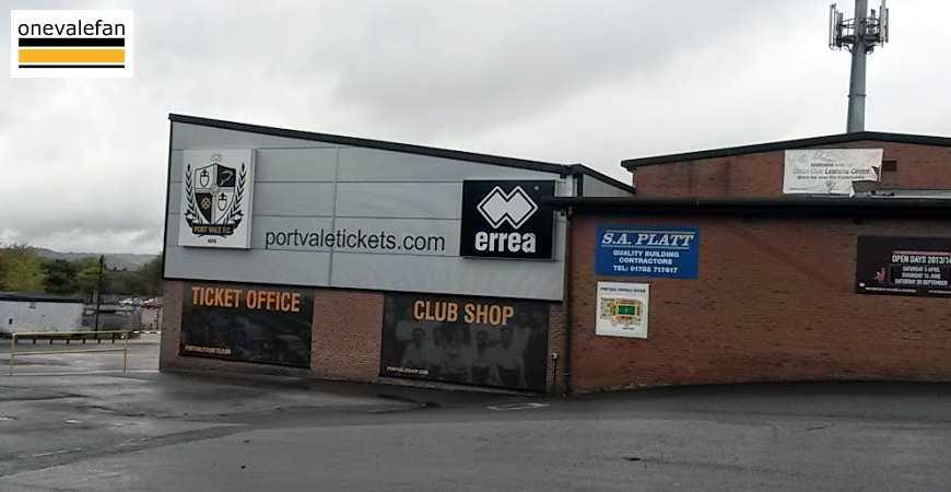 The Port Vale club shop