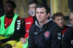 Fleetwood manager Joey Barton