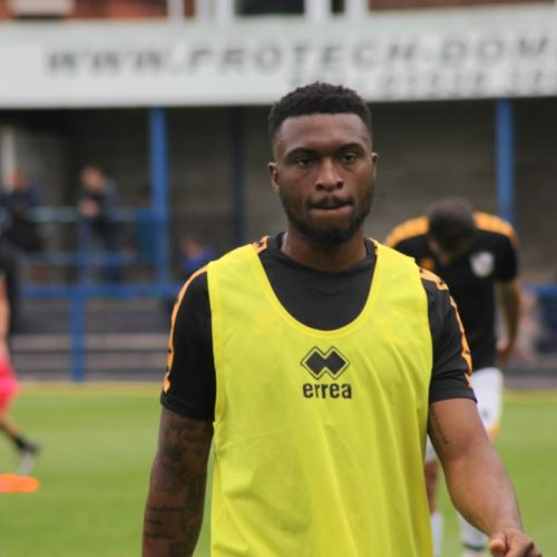 New signing David Amoo