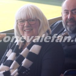 Port Vale FC owners Carol and Kevin Shanahan
