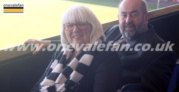 Port Vale FC owners Carol and Kevin Shanahan - AS Photos