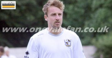 Port Vale midfielder Chris Lines