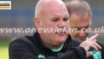 Port Vale coach Dave Kevan