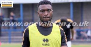Port Vale forward David Amoo