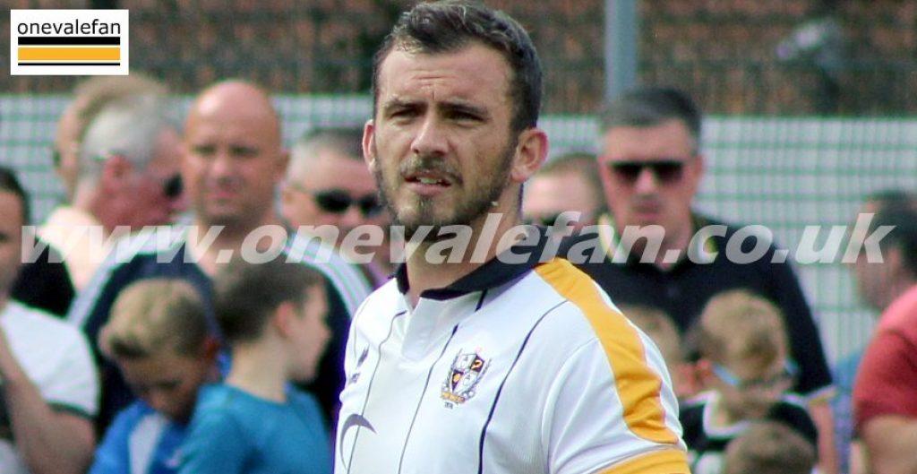 Port Vale defender Gavin Gunning