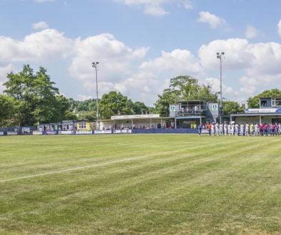 The Kidsgrove Athletic stadium