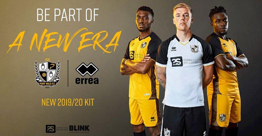 Port Vale 2019-20 kit