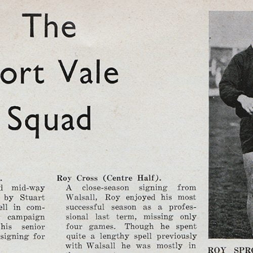 The Port Vale 1971 squad