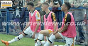 Ryan Campbell-Gordon, Joe Berks and Lucas Green-Birch