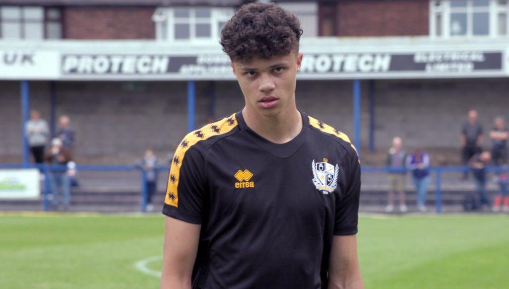 Port Vale FC defender Ryan Campbell-Gordon