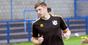 Port Vale FC defender Adam Crookes