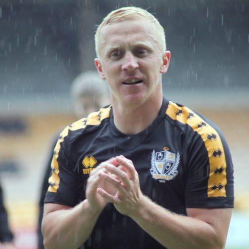 Port Vale striker Mark Cullen