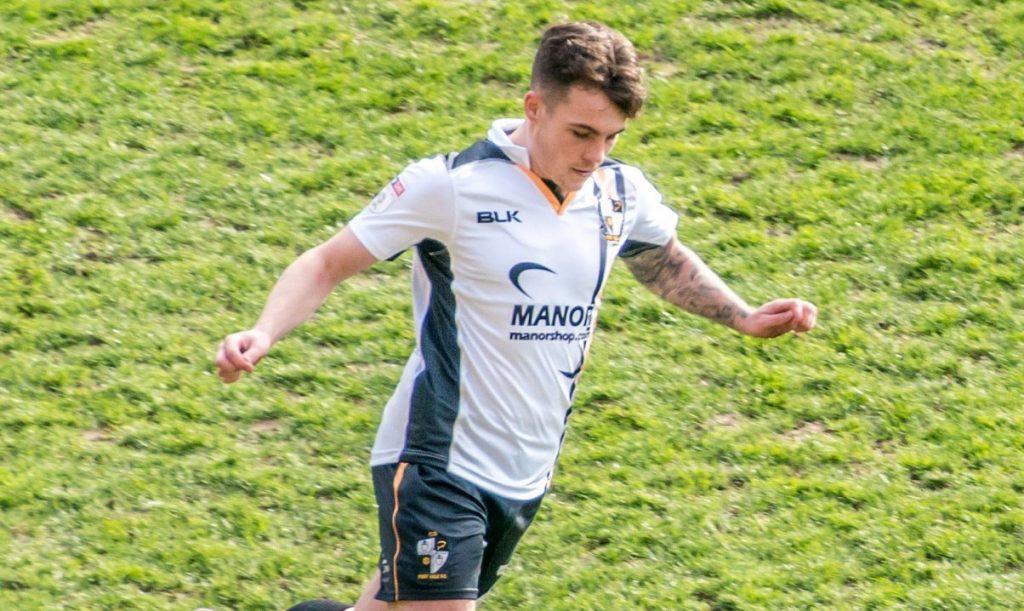 Port Vale defender Mitch Clark