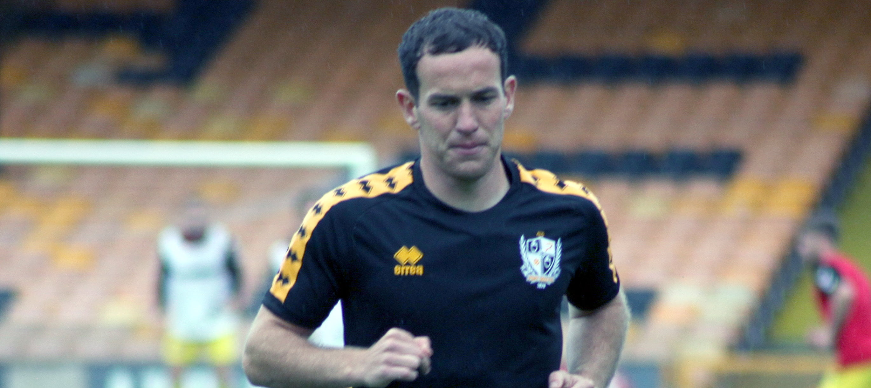 Port Vale FC midfielder Luke Joyce