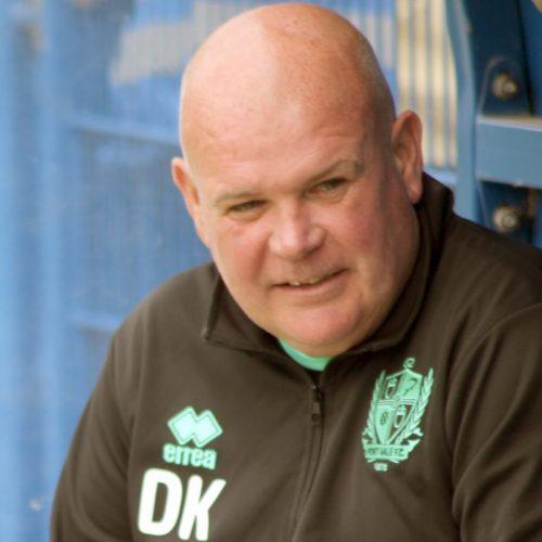 Port Vale FC coach Dave Kevan