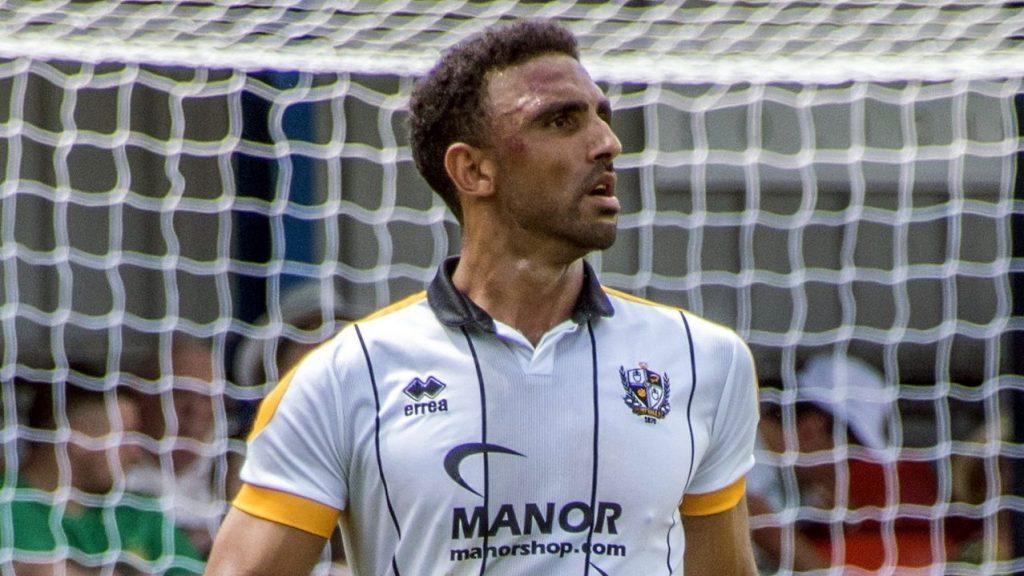 Port Vale FC defender Leon Legge