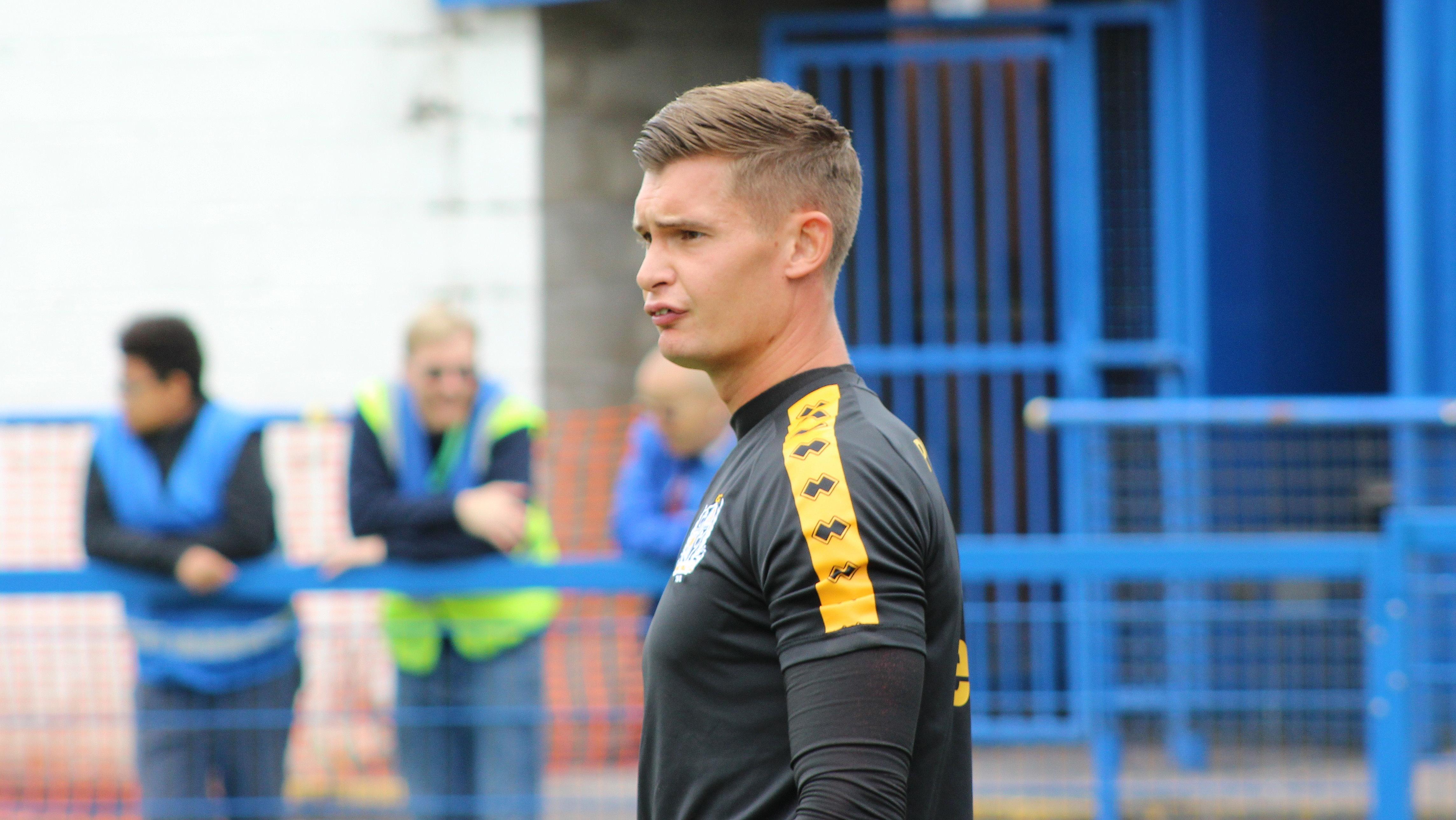 Port Vale FC goalkeeper Jonny Maddison