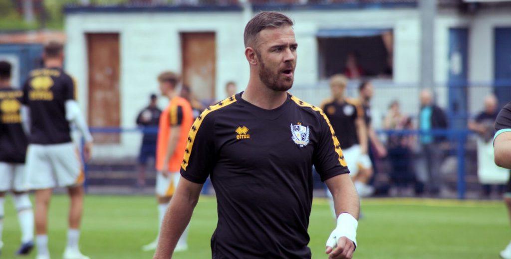 Port Vale striker Tom Pope