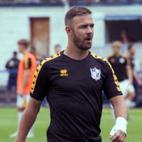 Port Vale striker Tom Pope