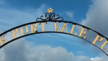 Sign at Vale Park stadium