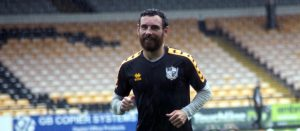 Port Vale FC winger David Worrall