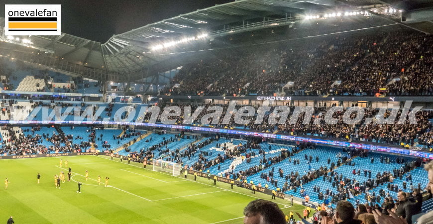 Manchester City v Port Vale FA Cup game, January 2020