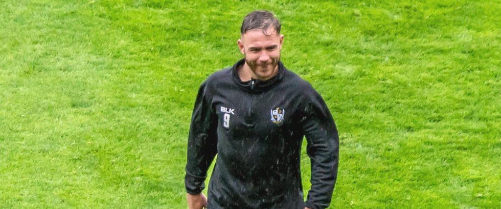 Port Vale FC striker Tom Pope