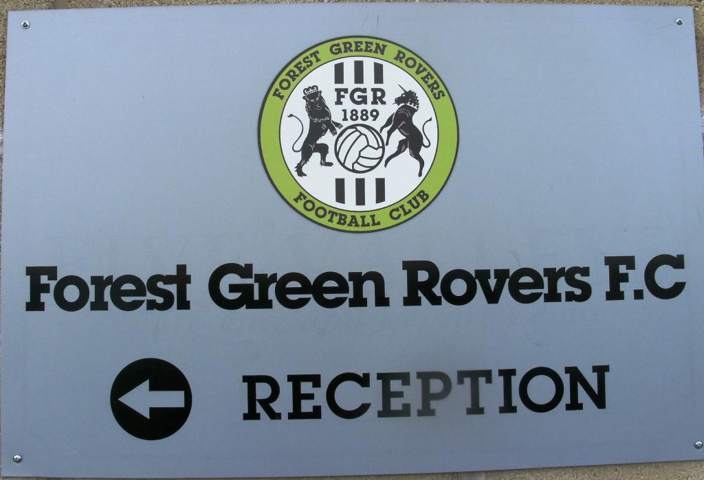 Forest Green Rovers sign
